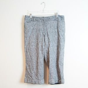 Lane Bryant | Gray Capri Pants | Size 14